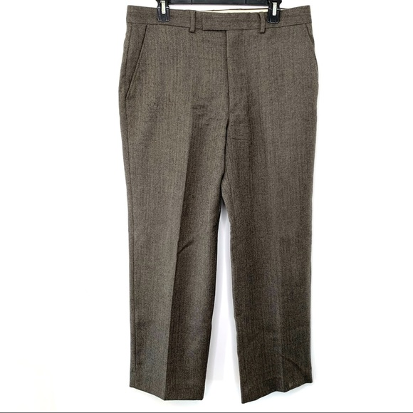 Austin Reed Pants Austin Reed London Gentry Flannel Mens Dress Pants Poshmark